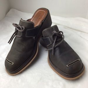 Donald J. Pliner Sport Italian Leather Mules Sz 9